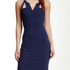 Bcbg macie never worn blue dress